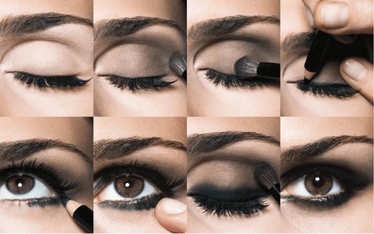 Aprenda fazer maquiagem esfumaçada nos olhos perfeita rápido e simples