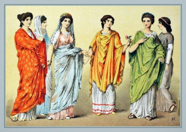 Historia da maquiagem idade média - Império Romano