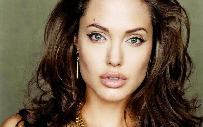 Historia da maquiagem Angelina Jolie