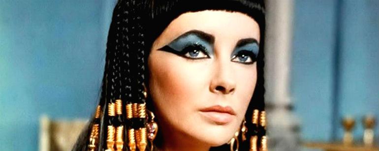 historia maquiagem cleopatra