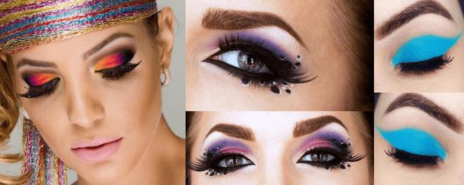 Maquiagem para o carnaval 2017 videos e fotos olhos com sombra