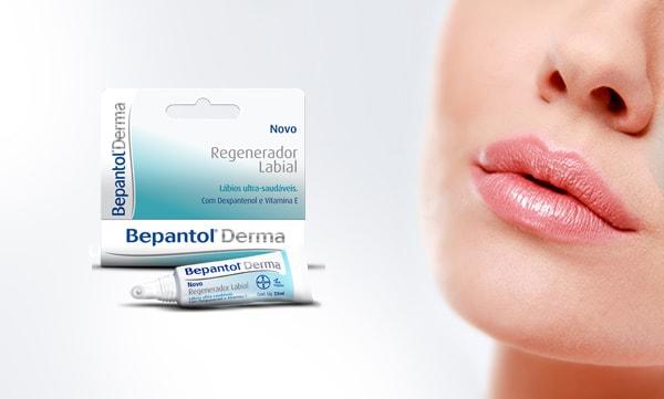 usar bepantol para tirar manchas do rosto e Bepantol Derma Regenerador Labial