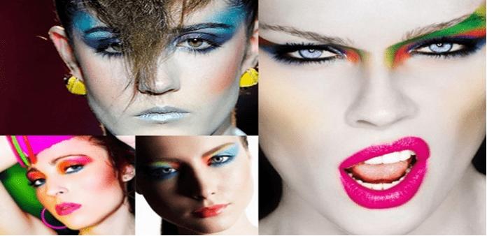 Historia maquiagem visagismo anos 80